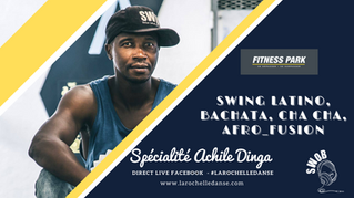Fitness Park & La Rochelle Danse - Cours de SWING LATINO, BACHATA, CHA CHA & AFRO FUSION