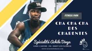 Fitness Park & La Rochelle Danse - Cours de Cha cha cha  en live avec Achile Dinga