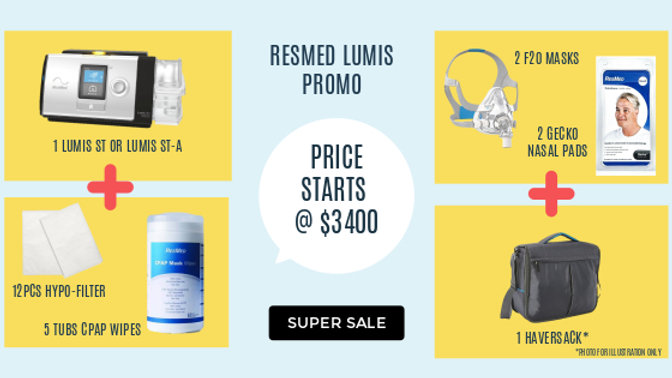 SUPER SALE : LUMIS ST-A PROMO