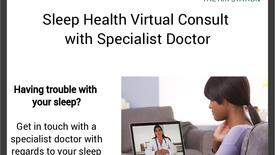 Sleep Health Virtual Consult with Specialist Doctor
