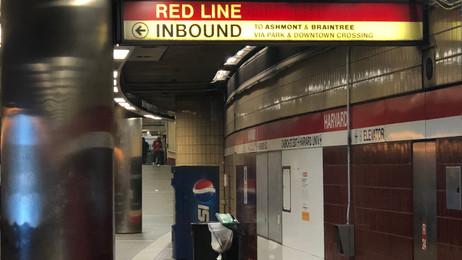 MBTA Boston Red Line