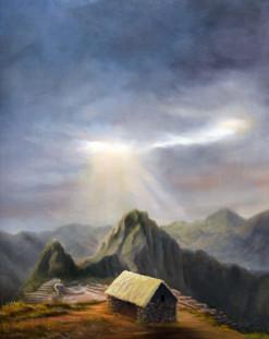 Watchman's Hut at Machu Pichu
