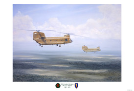 """205th Aviation Company """"Geronimo's"""""""