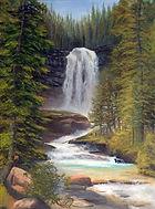 Virginia Falls Montana
