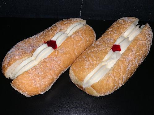 Long Doughnut - Synthetic Cream