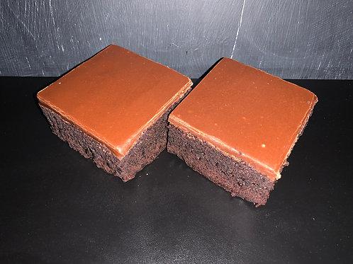 Fudge Brownie Slice