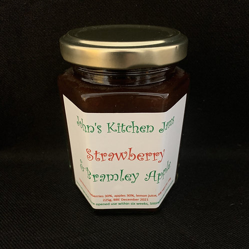 Strawberry & Bramley Apple Jam