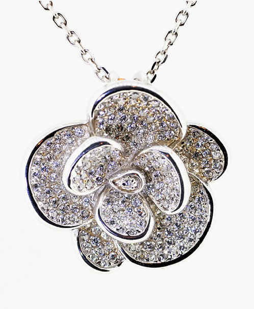 GEORGINE Silver Necklace pendant