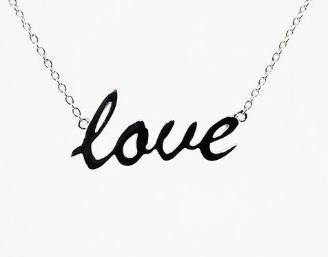 GEORGINI Silver Love Pendant