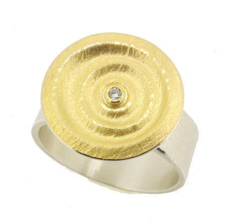 MANU Silver Ring