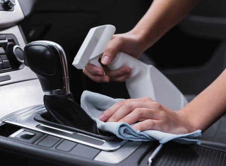 Car Disinfecting Tips