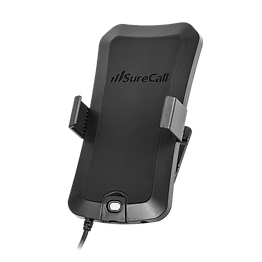 Cell phone cradle signal booster