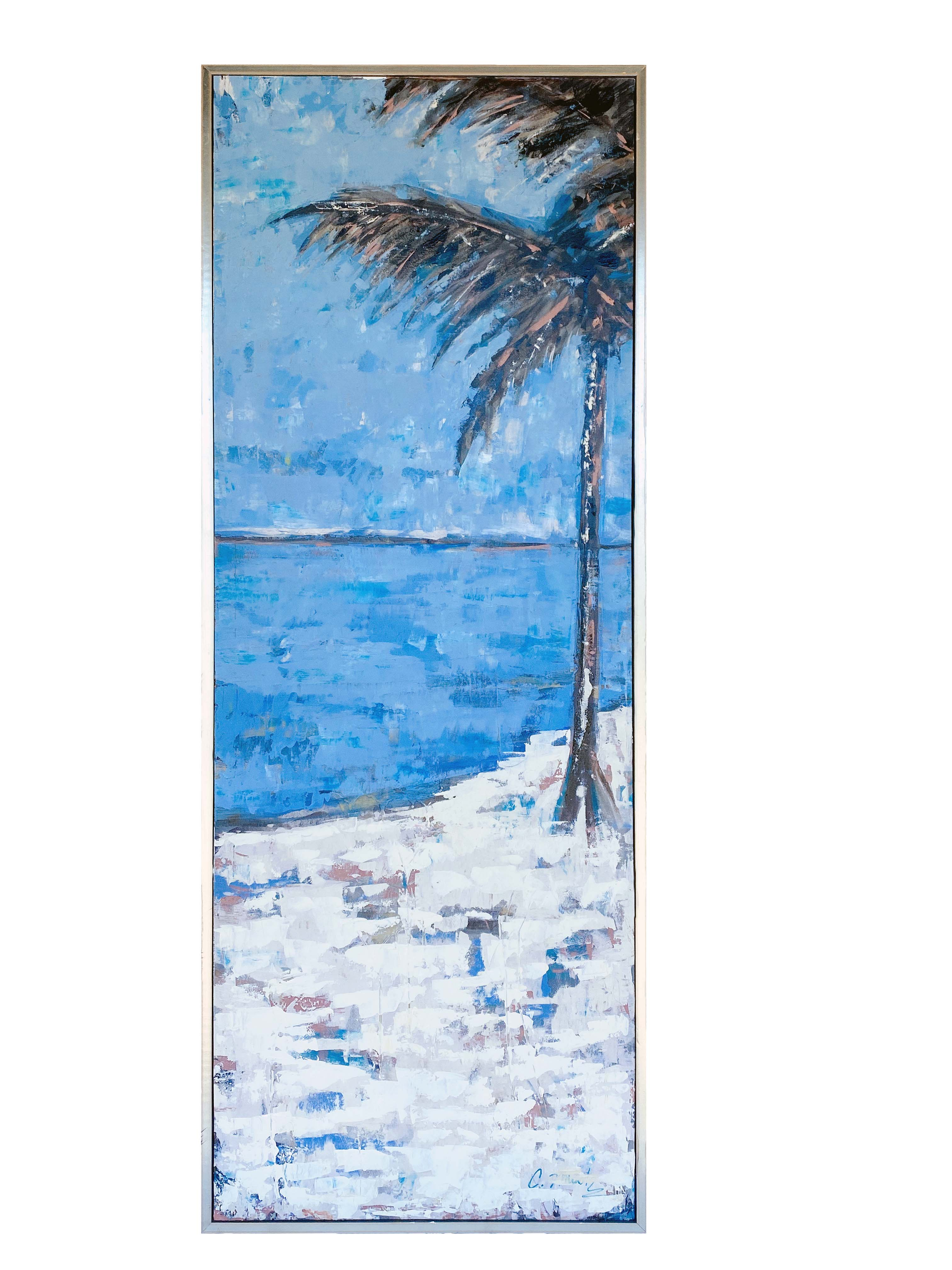 Blue Palm (28X60)