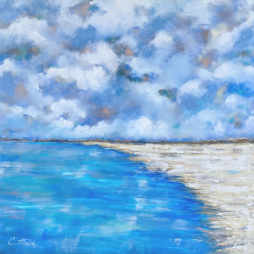 Day at the Beach (48X48)