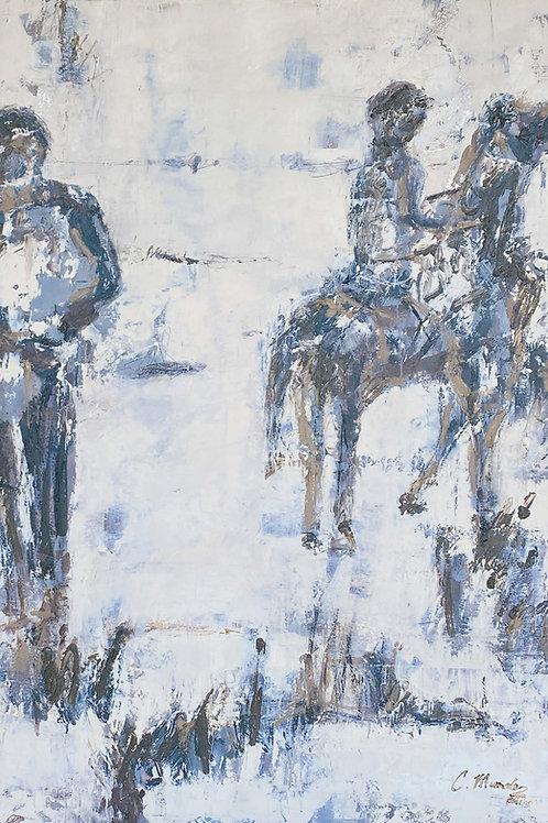 The Spirit Jockeys (36X54)