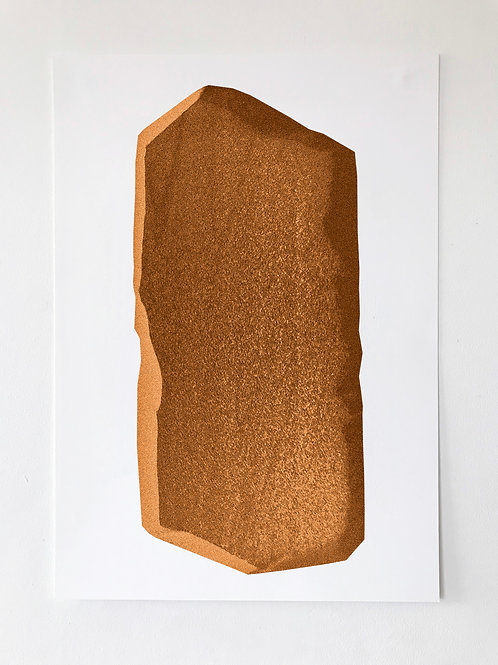 ORANGE SOFT 30x40cm