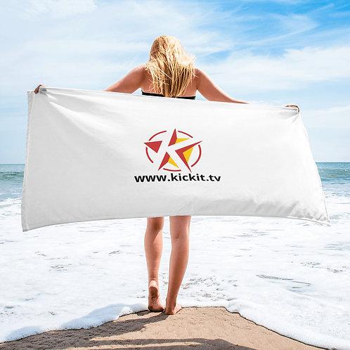 Kickit.tv Beach Towel
