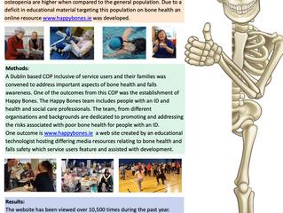 Happy Bones - Affinity - National Falls & Bone Health Symposium September 18th 2019