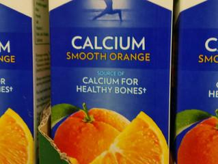 New Orange Juice with Calcium