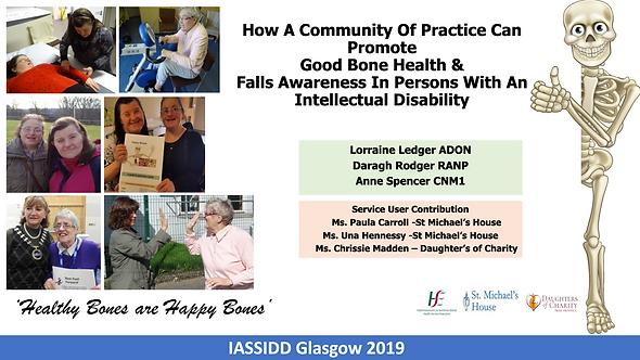 IASSIDD 2019 Promoting Good Bone Health