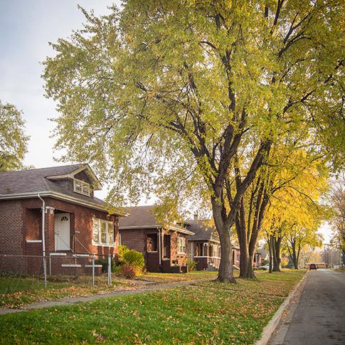 1920s Bungalows; North Chicago, Illinois