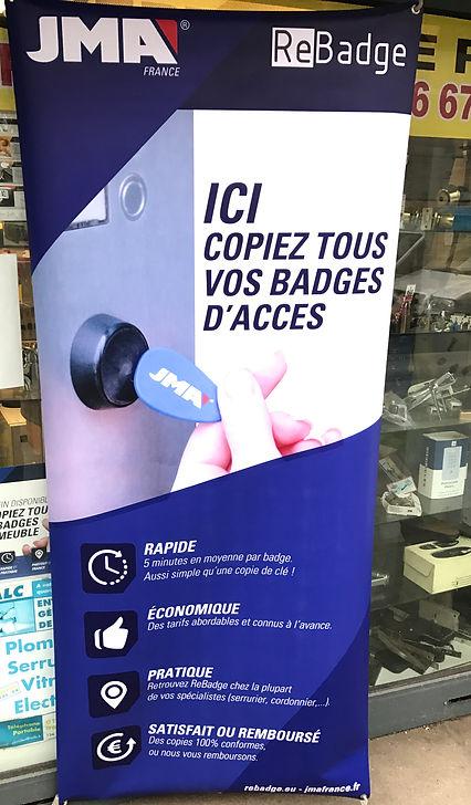 ALC SERRURERIE reproduction des badges d'accès