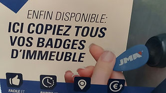 ALC serrurerie Copiez vos Badges