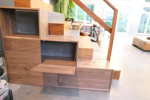 Stairway Cabinet