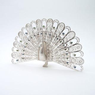 Zilveren pauw