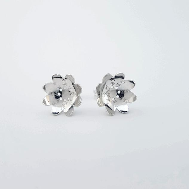 Bloemen oorbellen