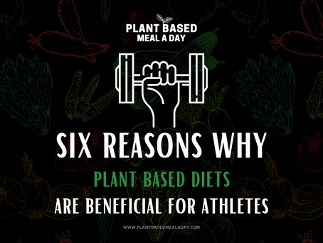 Six Reasons Why Plant Based Diets Are Beneficial For Athletes.