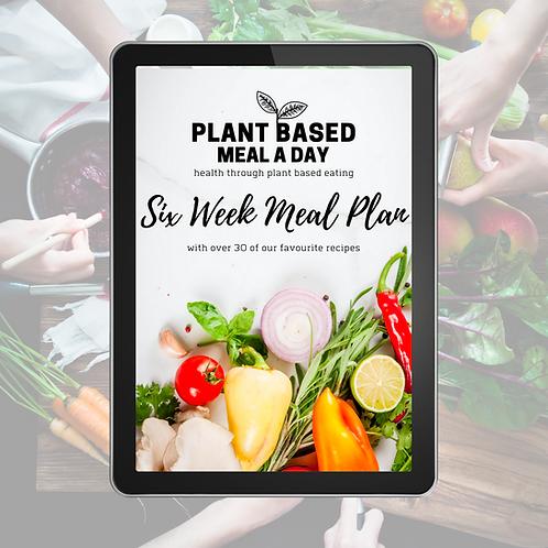 Six Week Meal Plan