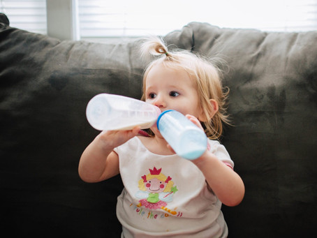 Bottle and combination feeding