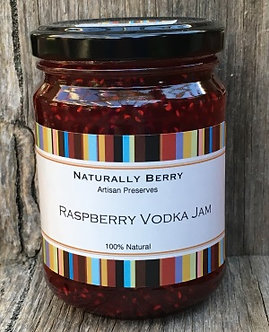 Raspberry Vodka Jam