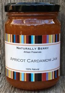 Apricot Cardamom Jam