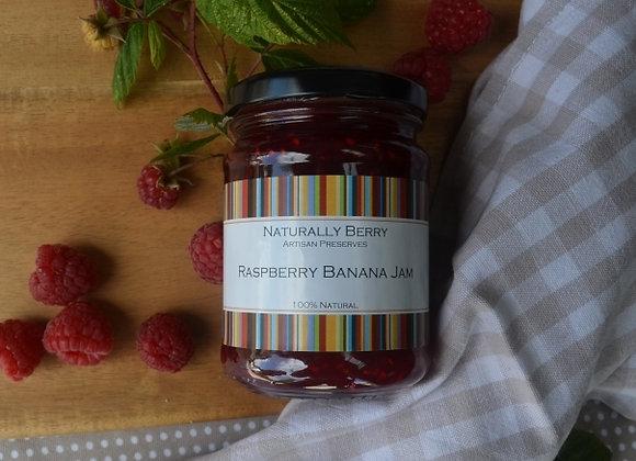 Raspberry Banana Jam