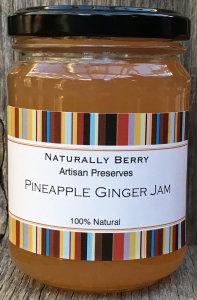 Pineapple Ginger Jam