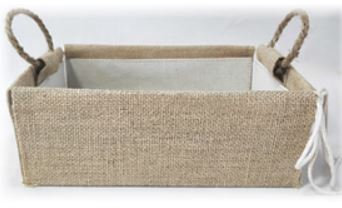 Large Jute Hamper