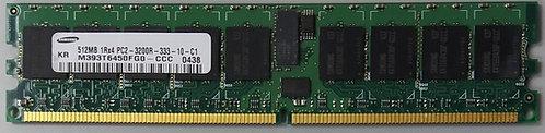 SAMSUNG PC2-3200R 512MB 1Rx4 PC2-3200R CL3 ECCDDR2