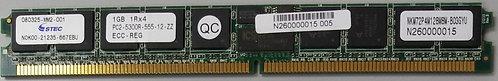 STEC 1GB 1Rx4 PC2-5300R ECC DDR2 LOW PROFILE