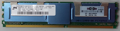 HP 398706-051 1GB 2Rx8 PC2-5300F 667 CL5 ECC FB