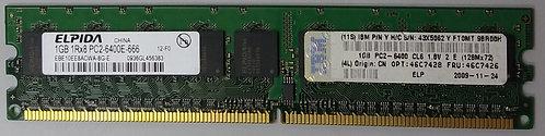IBM 46C7428 46C7426 1GB 1Rx8 PC2-6400E ECC DDR2