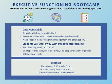 Executive Functioning Bootcamp