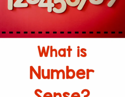 What is number sense and why does it matter?