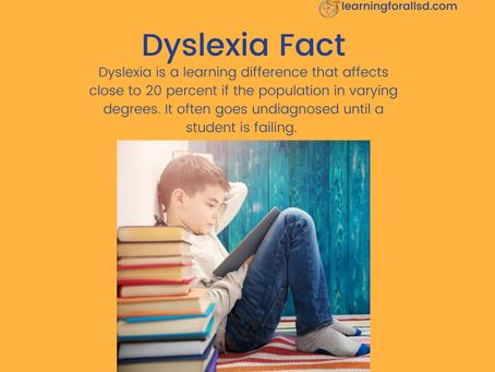 Dyslexia Fact