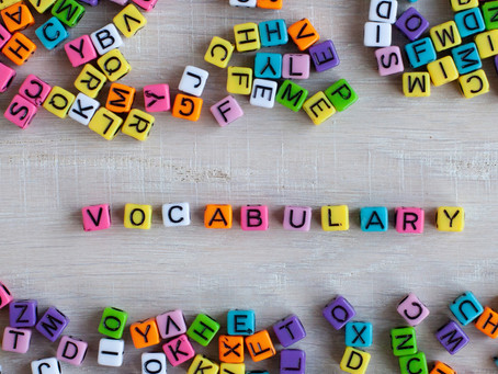 How to Build Student Vocabulary at Home.
