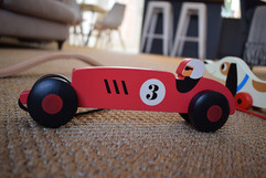 Wooden toys for the kiddies