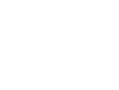 No.24 logo - white