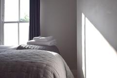 Light peeping through in bedroom 2