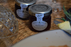 Local Tiptree jam - part of our welcome basket